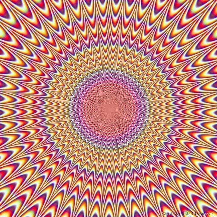 Прикольная оптическая иллюзия