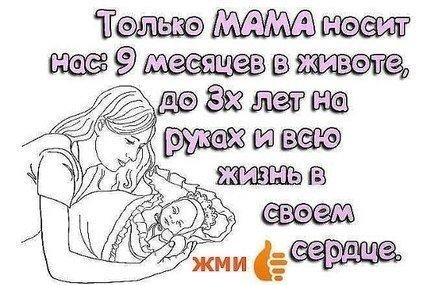 Прикольные цитаты о матери 1
