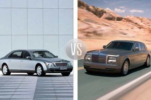 Maybach vs. Rolls-Royce