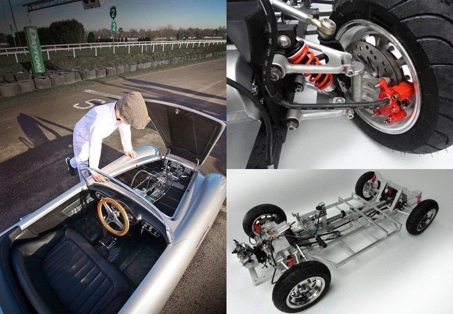 Как сделать автомобиль на бензине