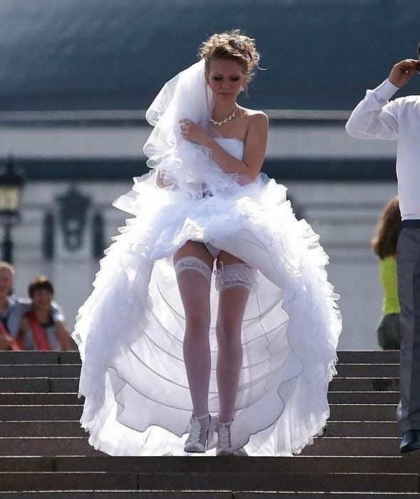 фото подсмотренные невест вроде живем
