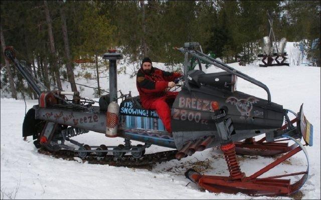 Тюнинг снегохода своими руками фото