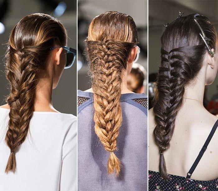 После того, как вы заплетете свободную косу, стилист рекомендует растрепать прядки так